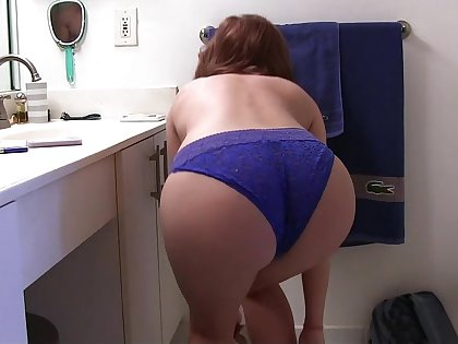 Such a tight fat ass for a petite little babe
