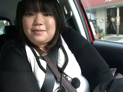 This fat Japanese slut loves to eat without a doubt and she loves hammer away dick
