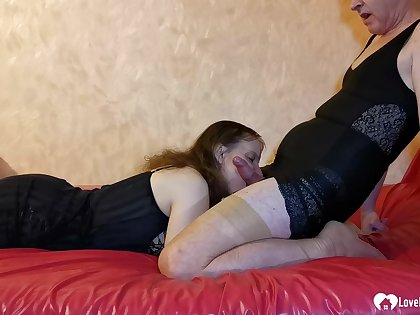 Husband forth stockings fucks her deficient in mercy - Inferior Sex