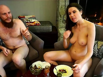 Bound big boobs joyless welcomes big cock upon ass
