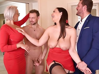 Angel Wicky And Sofia Lee Voluptuous Babes Hot Sex