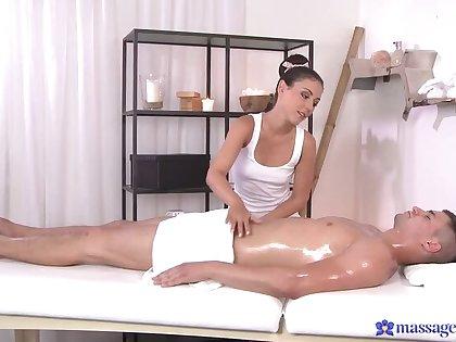 Fucking on the Massage Table Feels Amazing