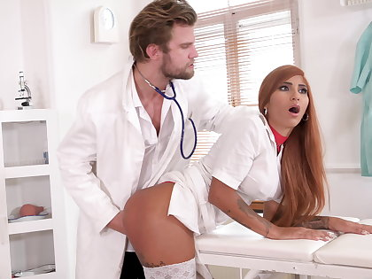 Offbeat doc makes nurse rain