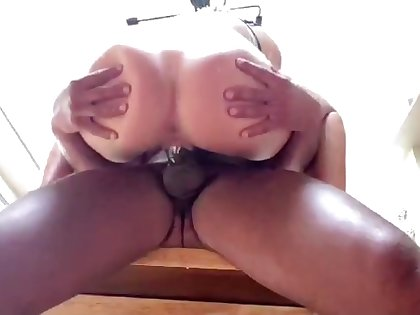 Say no to pussy is creaming robustly as she gets pounded wits BBC